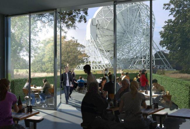 Центр открытия науки обсерватории Джодрелл-Бэнк © Feilden Clegg Bradley Studios