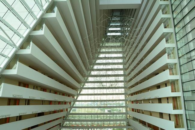 Отель Marina Bay Sands. Фото: C1815 via Wikimedia Commons. Фото находится в общем доступе