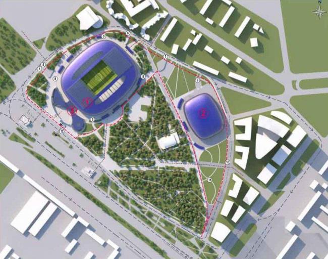 ВТБ Арена парк. Проект реконструкции стадиона «Динамо» (СТД-девелопмент)