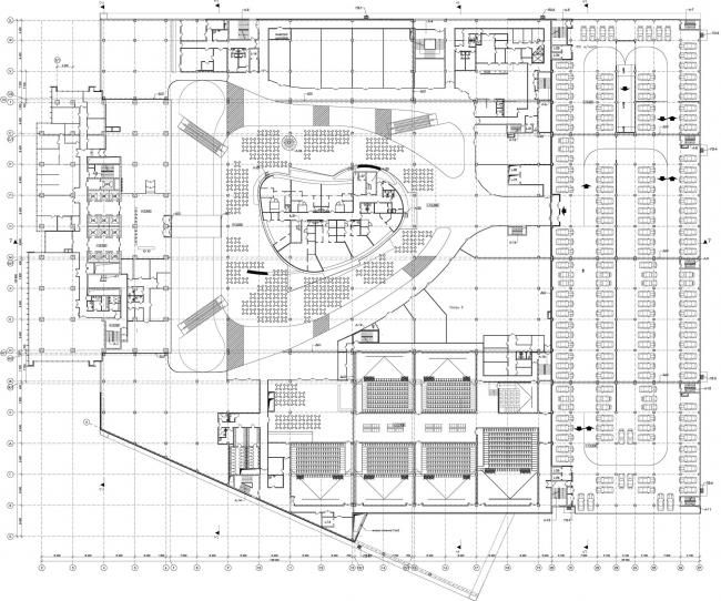 Торгово-деловой комплекс «Водный». План © AM «Атриум»