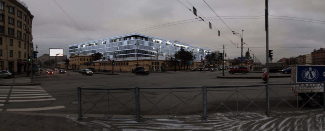 Жилой комплекс комфорт-класса, Санкт-Петербург © ТПО «Резерв»