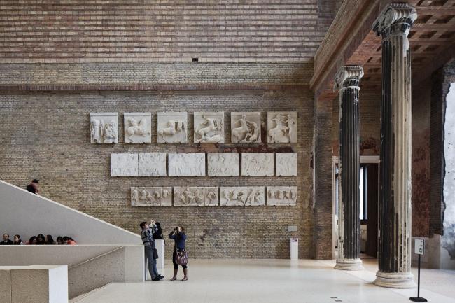 Новый музей в Берлин. Фотография © Achim Kleuker