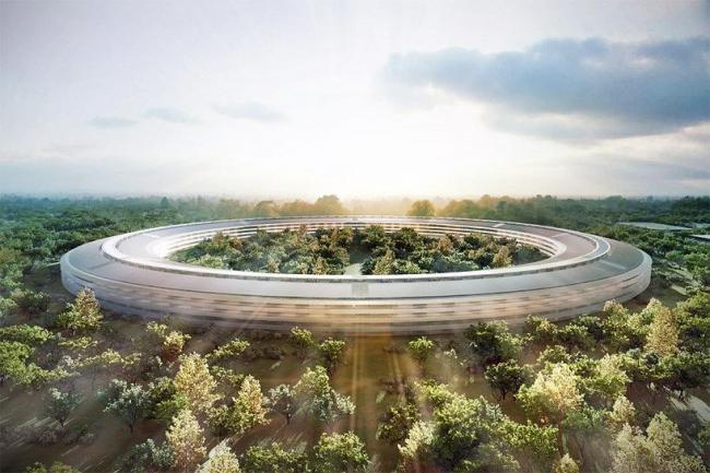 Штаб-квартира компании Apple © Foster + Partners, Apple Inc.