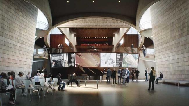 Канадский национальный музыкальный центр. Окончательный проект © Allied Works Architecture