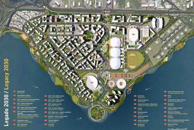 Олимпийский парк Рио 2016 (с) Brazilian Institute of Architects