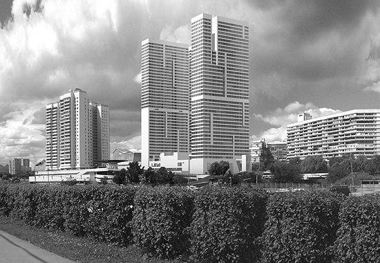 Многофункциональный жилой комплекс с торговым центром «Авеню, 77» в Северном Чертаново © ТПО «Резерв»