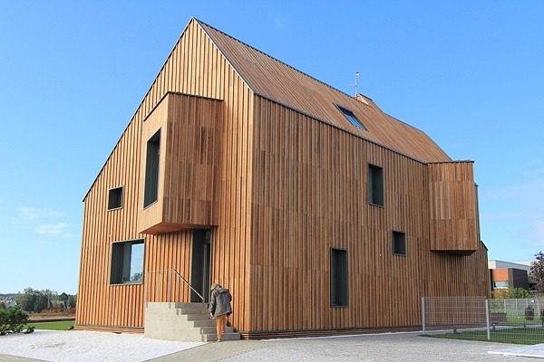 «Активный дом». Архитектурное бюро POLYGON