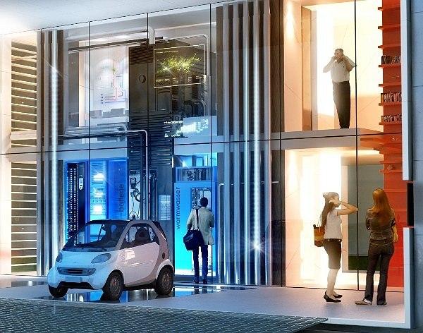 Проект дома «Энергия+». Институт легких конструкций и концептуального проектирования (ILEK), Университет Штутгарта, Вернер Зобек