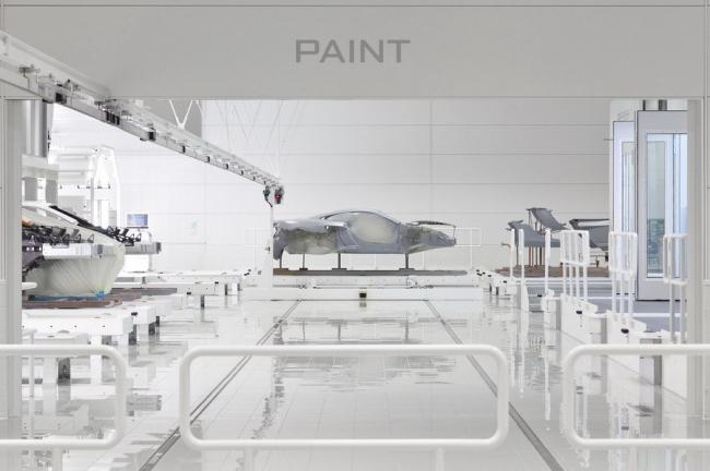 Производственный центр McLaren. Фото © McLaren