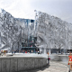 Конкурсная концепция фасадов нового здания Третьяковской галереи, Москва