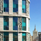 Архитектурное решение фасадов клинико-диагностического центра МЕДСИ, Москва