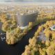 Гостиничный комплекс Radisson Blu на месте слияния Москвы-реки и реки Сходня, Москва