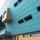 Облицовочные панели ROCKPANEL украсили фасады фитнес-клуба в эко-стиле