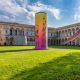 Towers: инсталляция во дворе Миланского университета, Милан