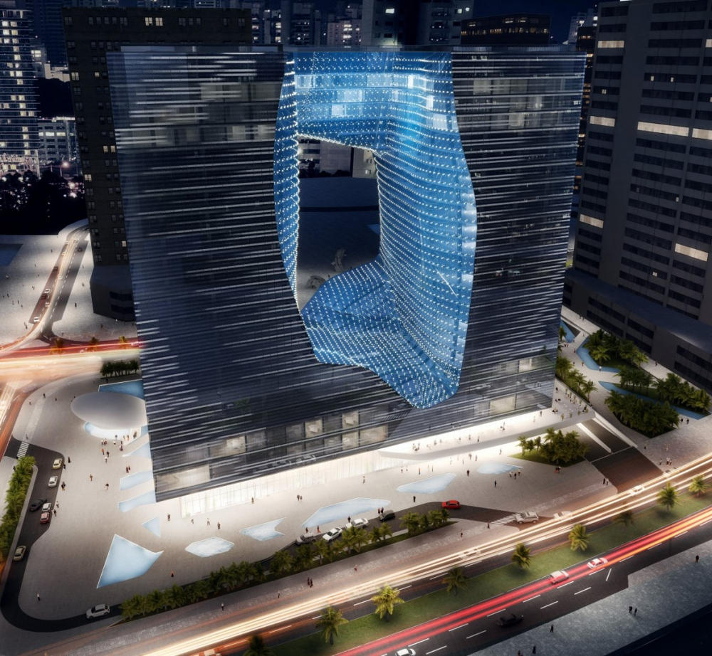 Комплекс Opus © Zaha Hadid Architects<br>© Zaha Hadid Architects