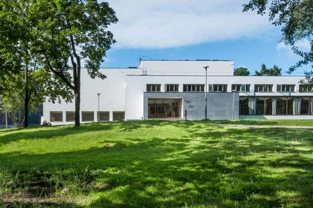 Alvaro Aalto library in Vyborg<br>Copyright: © A-Len Architectural Bureau