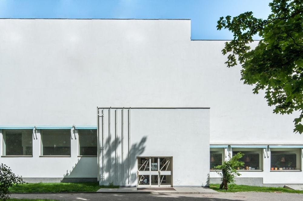 Alvaro Aalto library in Vyborg<br>Copyright: © Denis Esakov