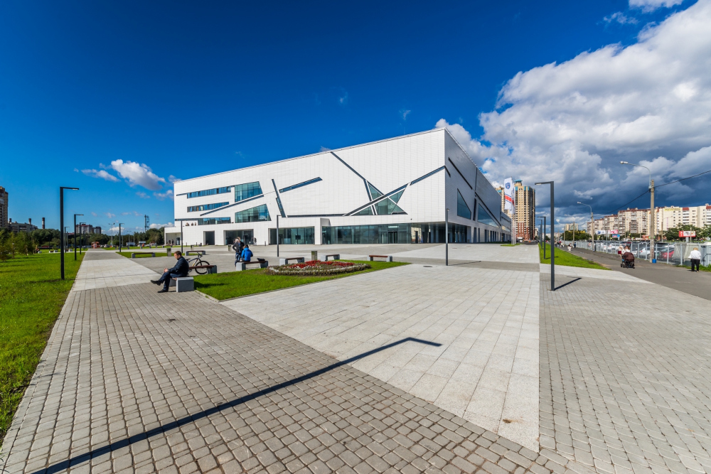 Sports complex of SKA hockey club. Implementation, 2016 © A.Len Architectural Bureau<br>Copyright: © A-Len