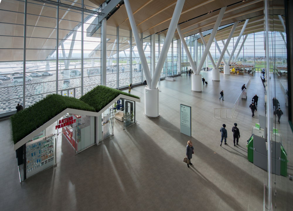 Platov Airport, Rostov-on-Don<br>Copyright: © Twelve Architectsa