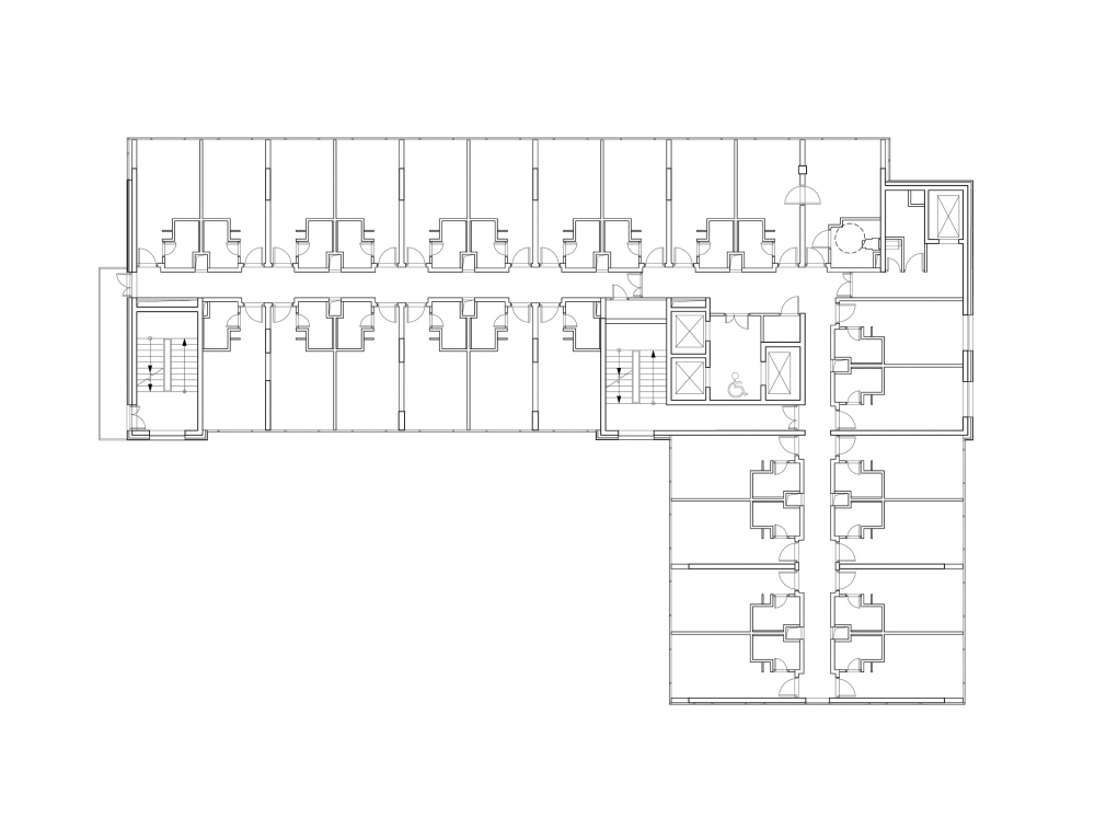 Гостиница Holiday Inn Express на Дубининской улице <br>© Гинзбург Архитектс