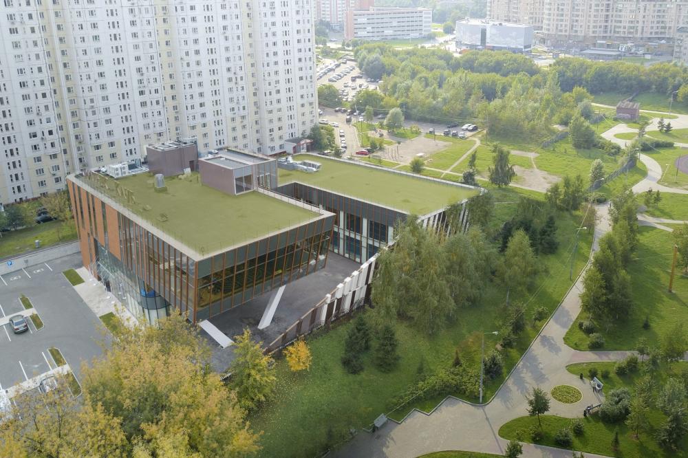 Fitness center La Salute on the Belorechenskaya Street<br>Copyright: © ASADOV architects