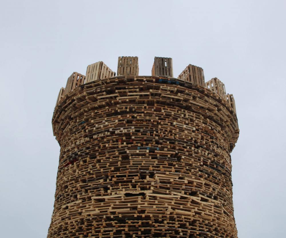 Bastille Tower. Maslenitsa-2019 festival. Copyright: © Nikolai Polissky, Nikola-Lenivets
