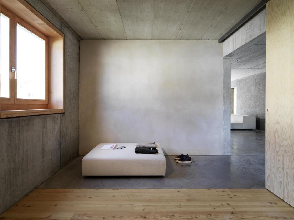 Комплекс доступного жилья для фонда Baechi<br>Фото © Bruno Helbling