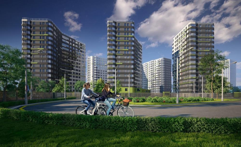 """Dom na Lvovskoi"" housing complex<br>Copyright: © A-Len"