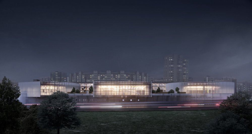 Redevelopment of the project on the Dmitrovskoe Highway, Moscow<br>Copyright: © MAParchitects + PROMCODE
