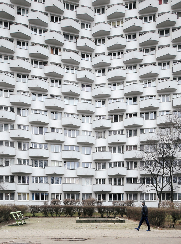 Иллюстрация из книги Eastern Blocks: Concrete Landscapes of the Former Eastern Bloc<br>Фотография © Zupagrafika