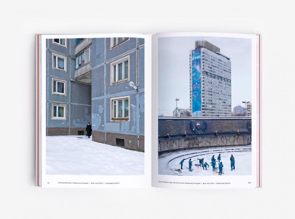 Разворот книги Eastern Blocks: Concrete Landscapes of the Former Eastern Bloc<br>Фотография © Zupagrafika