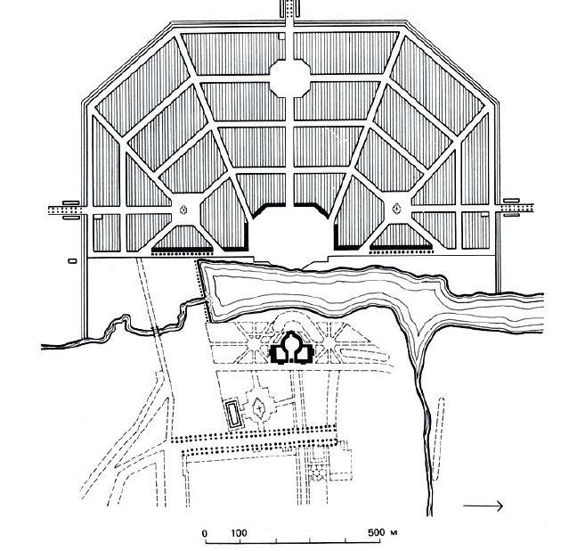 Градостроительный план Богородицка, разработанный Андреем Тимофеевичем Болотовым<br>© «Новая земля»+ NEFA architects + ARTEZA