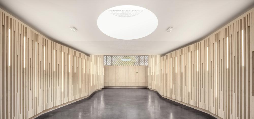 Музыкальная школа в Эланкуре<br>Фото © Luc Boegly