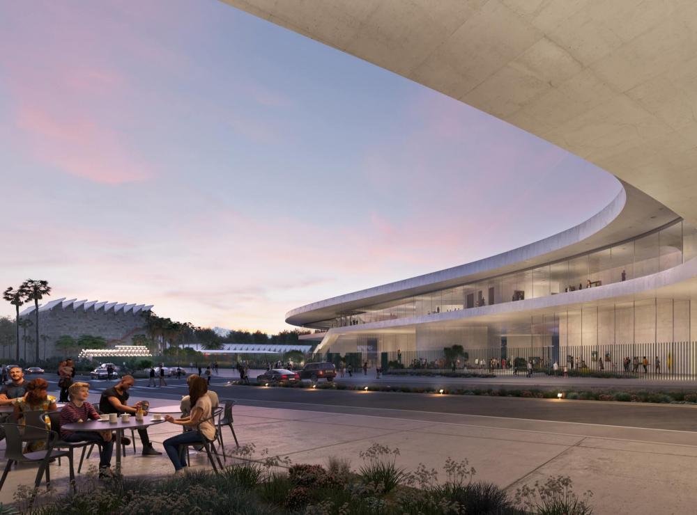 Новое здание Музея искусства округа Лос-Анджелес LACMA &#040;2019&#041;<br>Изображение с сайта buildinglacma.org