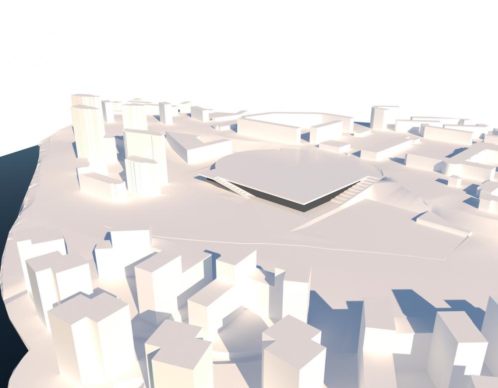 Реконструкция спортивного комплекса имени Стрельцова<br>© Atelier d&#8242;Architecture Michel R&#233;mon