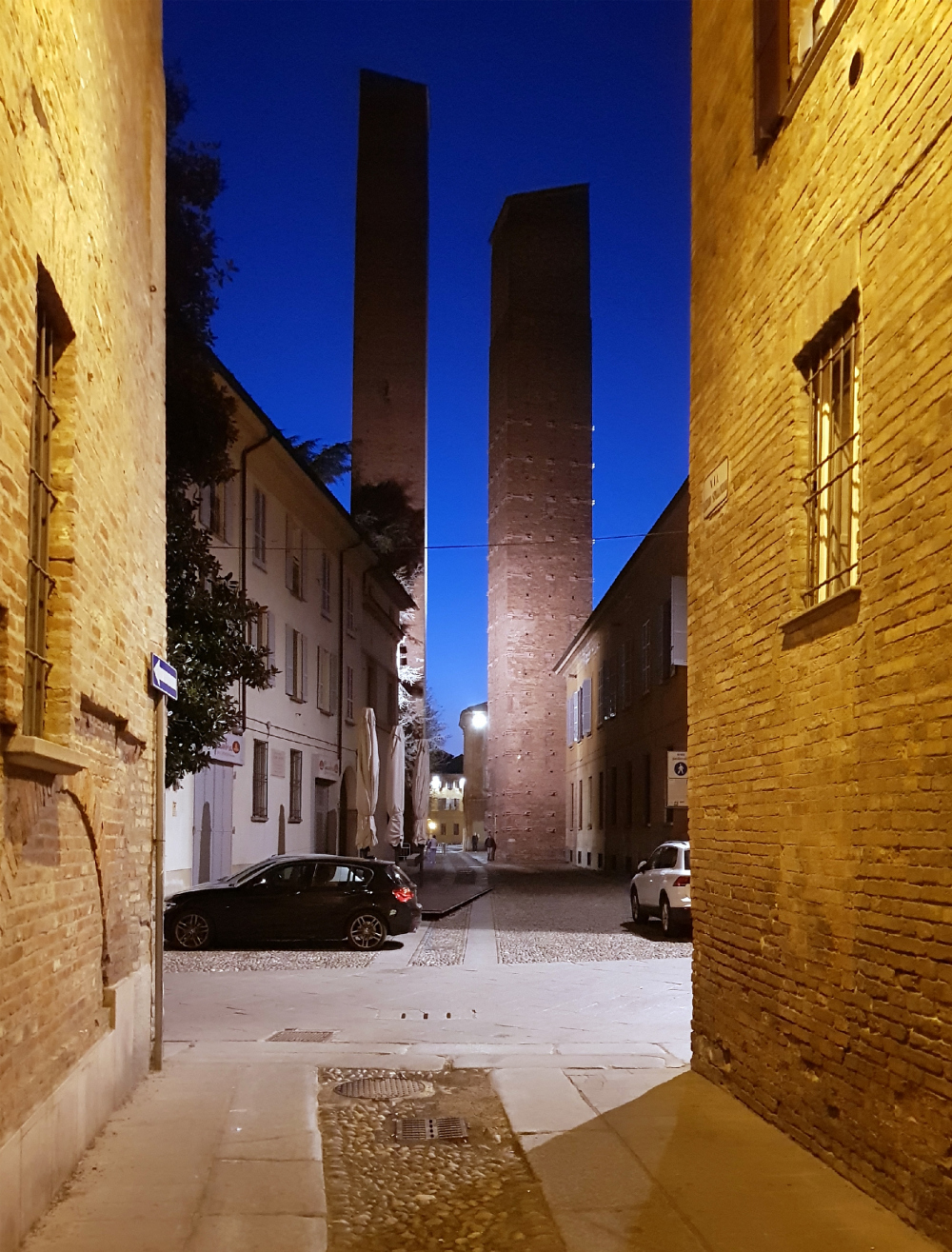 Towers of the noble families. Pavia<br>Copyright: Photograph: Julia Tarabarina, Archi.ru