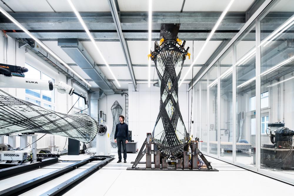 Павильон из композитного волокна BUGA<br>© ICD/ITKE University of Stuttgart