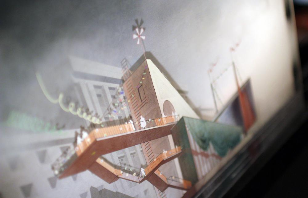 «Московские странности» / Nowadays / МАРШ. Арх Москва 2019<br>Фотография: Архи.ру