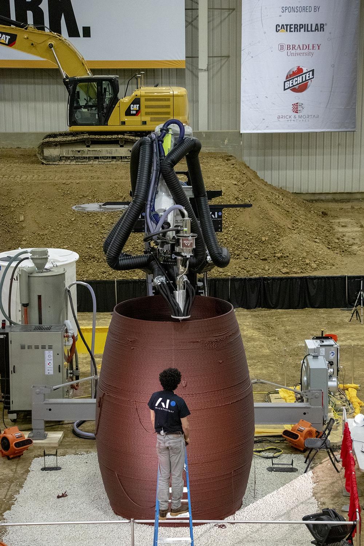 Строительство прототипа MARSHA<br>© AI SpaceFactory