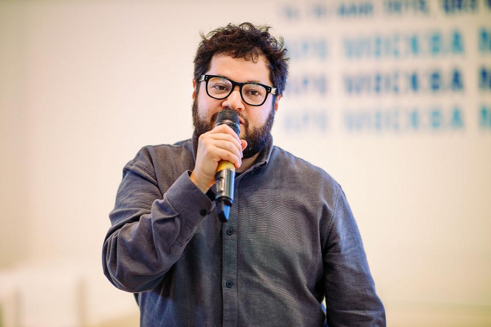 Александр Острогорский, преподаватель МАРШ<br>Предоставлено Москомархитектуры