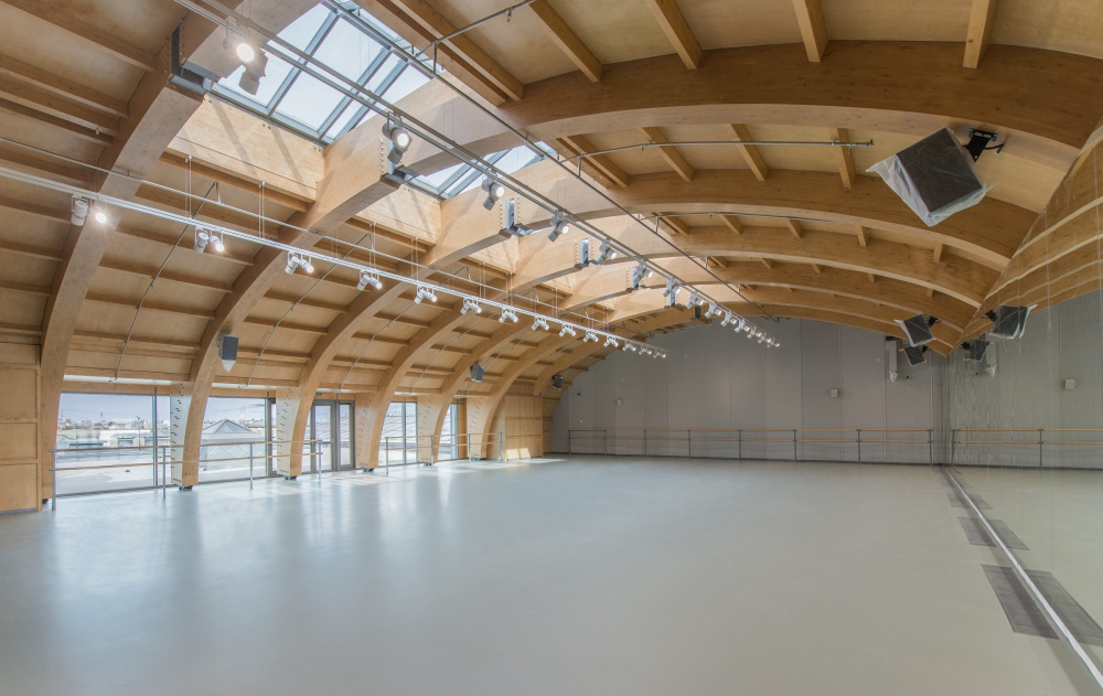 Академия танца под руководством Бориса Эйфмана, 2 очередь. Репетиционный зал<br>Фотография © Маргарита Явейн
