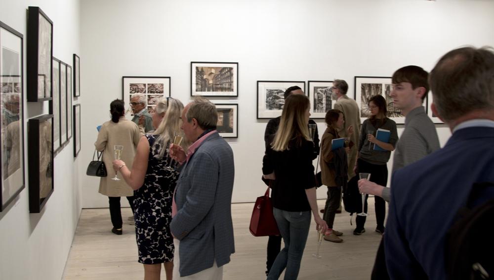Смотр современного рисунка, Лондон, 2019. Экспозиция рисунков Сергея Чобана<br>предоставлено SPEECH