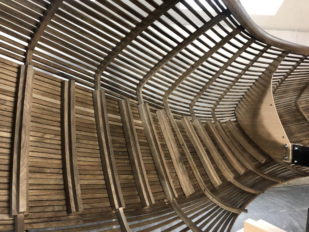 Реконструкция театра «Альянс» в Атланте. Производство<br>Фотография предоставлена Trahan Architects