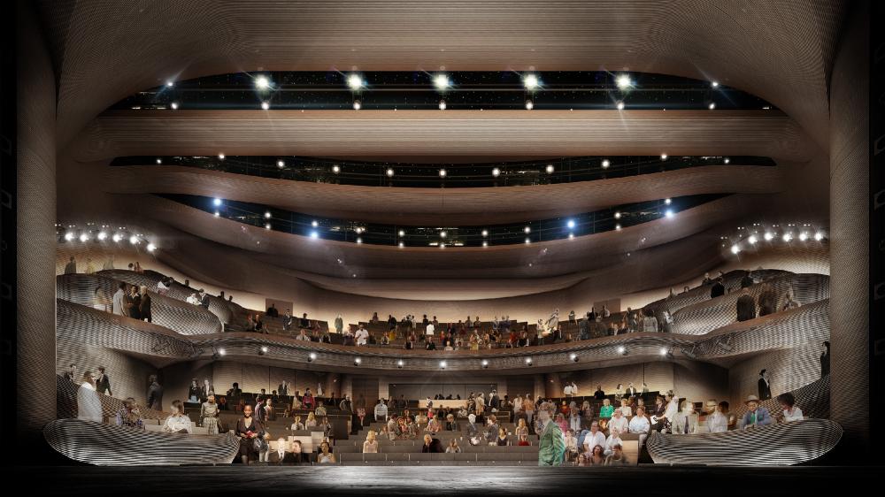 Реконструкция театра «Альянс» в Атланте<br>Изображение предоставлено Trahan Architects