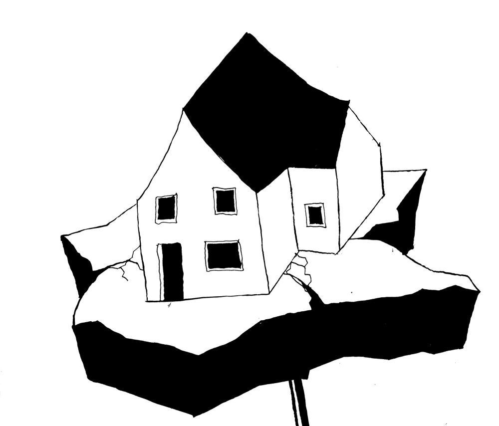 Unheimliche Heimat («Зловещая родина») из каталога «Реквиема по поселкам»<br>© Nick Förster