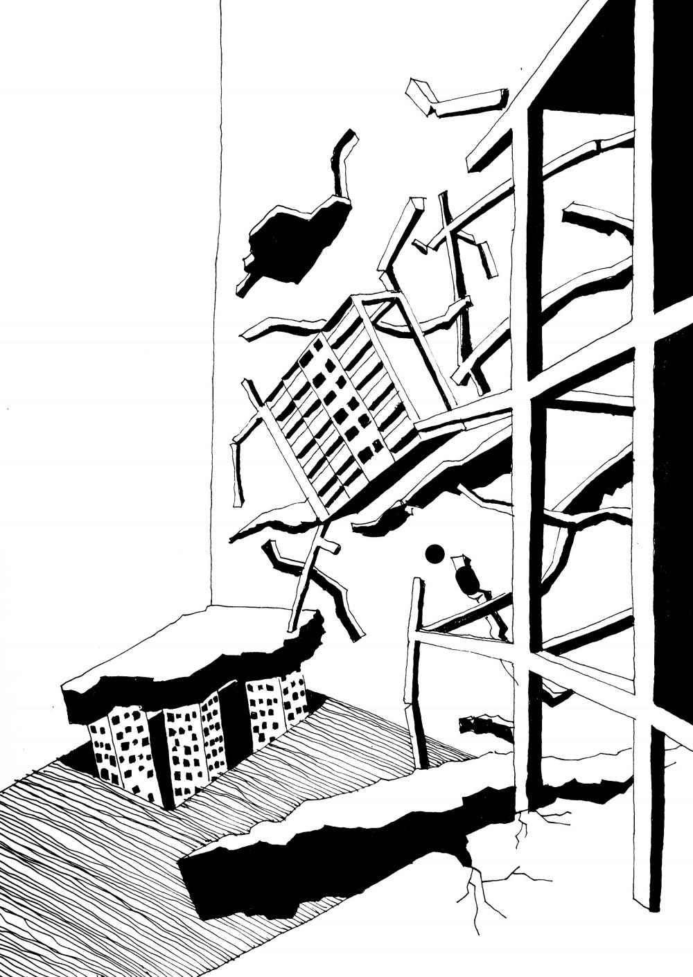 «Крушение» из каталога «Реквиема по поселкам»<br>© Nick Förster