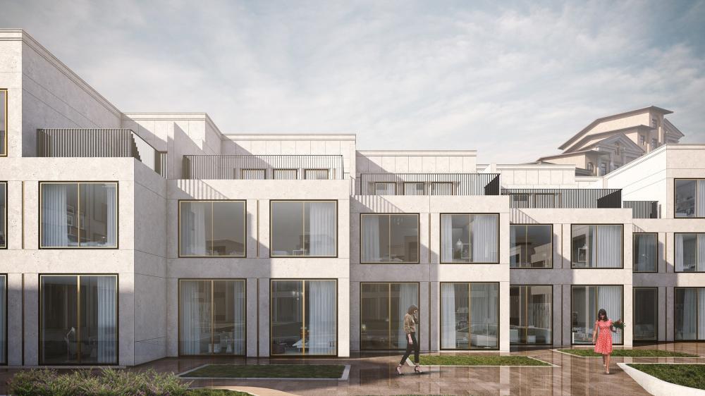 Dolgorukovskaya club housing complex<br>Copyright: © T+T architects