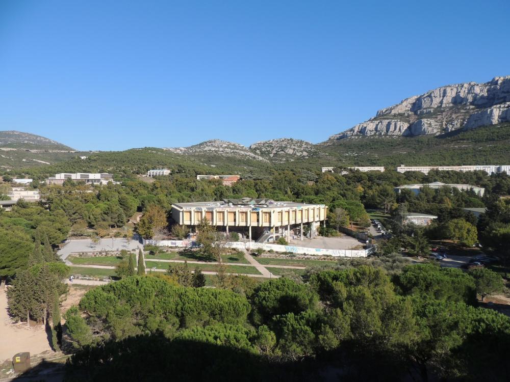 Библиотека и учебный центр Hexagone до реконструкции