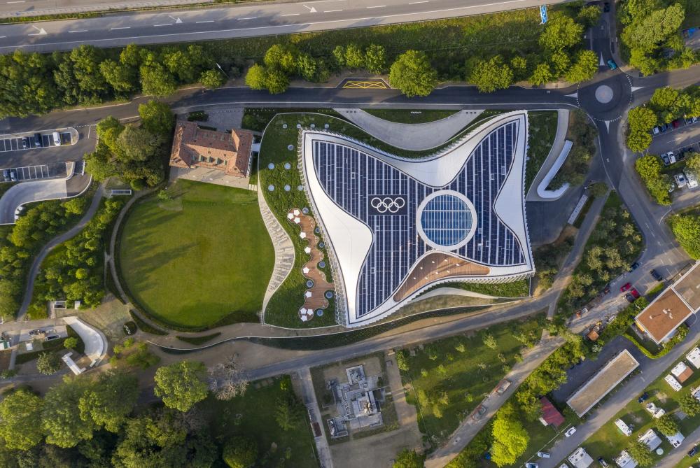 Олимпийский дом. Штаб-квартира Международного Олимпийского комитета (МОК)<br>Фото © 2019 / International Olympic Committee (IOC) / MØRK, Adam – Все права защищены
