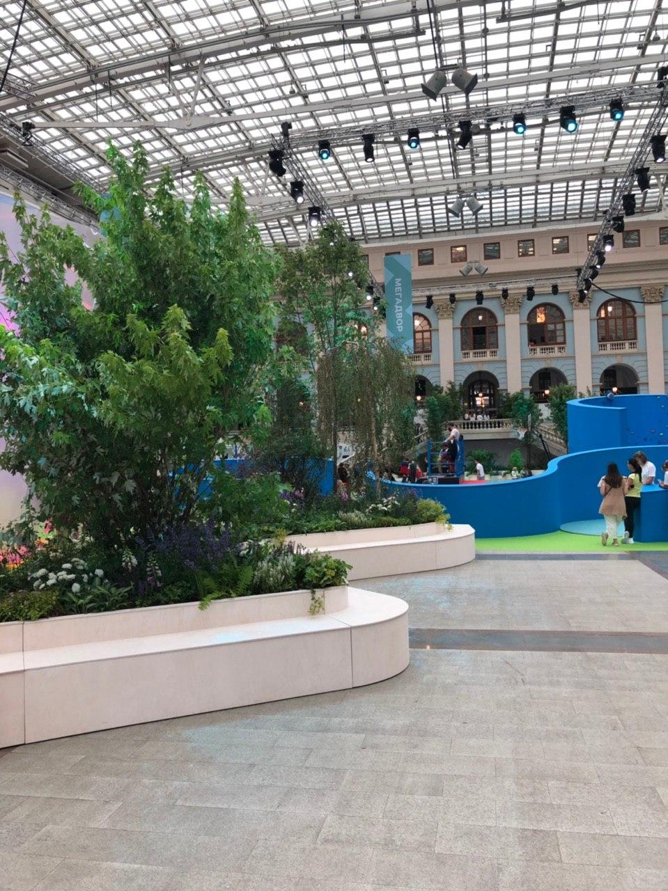 Форум «Мой район», Москва, Гостиный двор. Проект экпозиции: Wowhaus<br>Фотография: Юлия Зинкевич